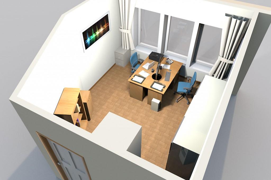Beratungs- bzw. Büroraum