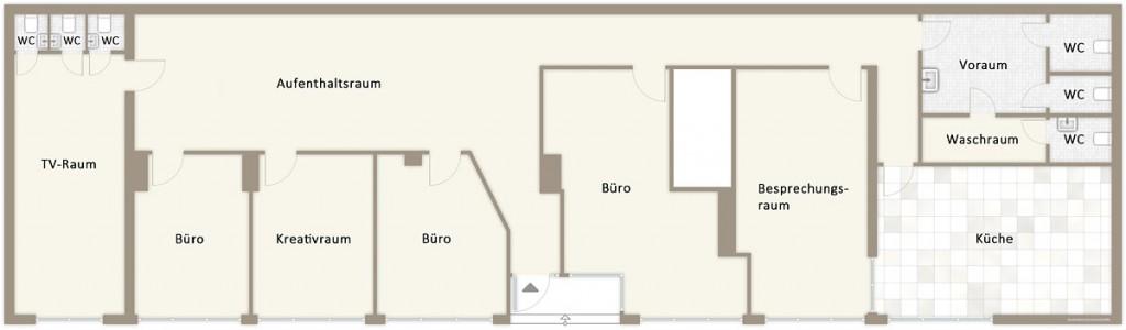 Standort Hann. Münden, Grundriss Erdgeschoss